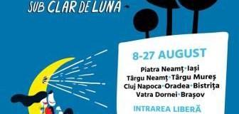 Caravana Filmelor NexT – PIATRA NEAMT (8-9 august) și TARGU NEAMT (12-13 august)