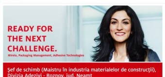 Henkel Romania angajeaza sef de schimb in Roznov, judetul Neamt