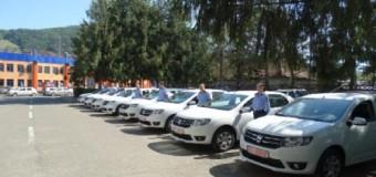 27 de autoturisme Dacia Logan in dotarea Politiei Neamt