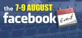 Evenimentele Facebook 7-9 august in Neamt