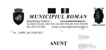Primaria Roman scoate la licitatie o casuta de lemn din strand