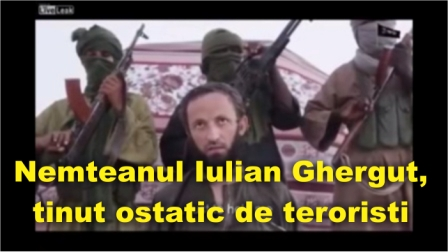 Nemteanul Iulian Ghergut, tinut ostatic de teroristi. Celula de criza interinstitutionala gestioneaza situatia