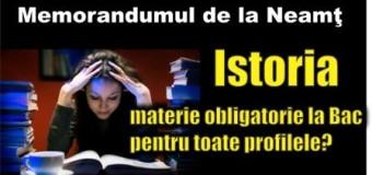 Memorandumul de la Neamț vrea să facă istorie în educație