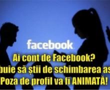 Ai cont de Facebook? Trebuie să știi de schimbarea asta! Poza de profil va fi ANIMATĂ!