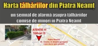 Harta tâlhăriilor din Piatra Neamț – o nouă campanie pe Facebook
