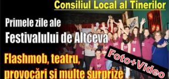 Primele zile ale Festivalului de Altceva. Flashmob, teatru, provocări și multe surprize