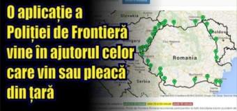 O aplicație a Poliției de Frontieră vine în ajutorul celor care vin sau pleacă din țară