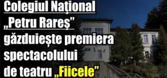 """Colegiul Naţional """"Petru Rareş"""" găzduiește premiera spectacolului de teatru """"Fiicele"""""""