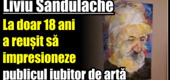 Liviu Săndulache – La doar 18 ani a reușit să impresioneze publicul iubitor de artă