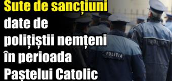 Sute de sancțiuni date de polițiștii nemțeni în perioada Paștelui Catolic