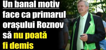 Un banal motiv face ca primarul orașului Roznov să nu poată fi demis