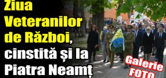 Ziua Veteranilor de Război, cinstită și la Piatra Neamț