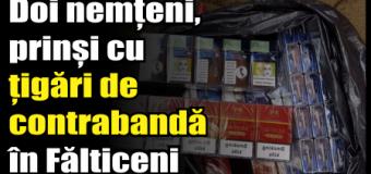 Doi nemțeni, prinși cu țigări de contrabandă în Fălticeni