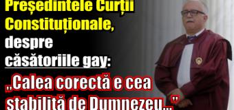 """Zegrean, despre căsătoriile gay: """"Calea corectă e cea stabilită de Dumnezeu…"""""""