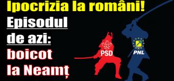 Ipocrizia la români! Episodul de azi: boicot la Neamț