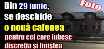 De miercuri, 29 iunie, se deschide o nouă cafenea în Piatra-Neamț, pentru cei care iubesc discreţia şi liniştea