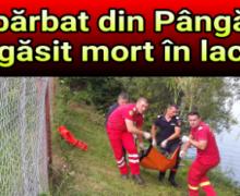 Bărbat din Pângărați găsit mort în lac