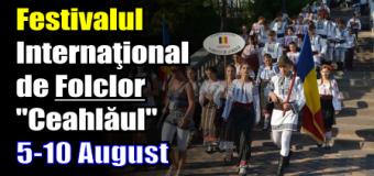 """Festivalul Internaţional de Folclor """"Ceahlăul"""" – 5-10 august"""