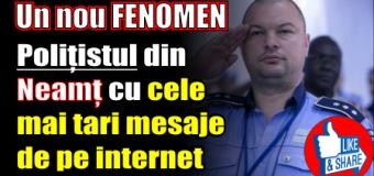 Un nou FENOMEN. Polițistul din Neamț cu <cele mai tari> mesaje de pe internet