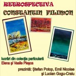 Afis 07_27_2016 Expozitie Retrospectiva Constantin  Filimon