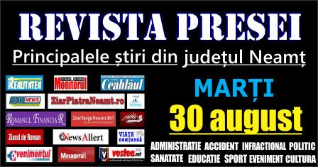 Revista presei Neamt