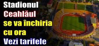 Stadionul Ceahlăul se va închiria cu ora. Vezi tarifele