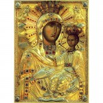 Icoana Maicii Domnului - Manastirea Neamt