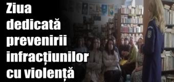 IPJ Neamț – Ziua dedicată prevenirii infracțiunilor cu violență
