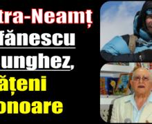 Ionuţ Ştefănescu și Gheorghe Bunghez – cetățeni de onoare ai municipiului Piatra-Neamț