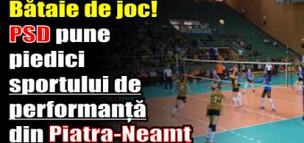 Bătaie de joc! PSD pune piedici sportului de performanță din Piatra-Neamț