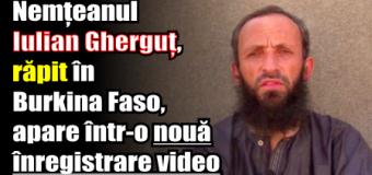 Nemțeanul Iulian Gherguț, răpit în Burkina Faso, apare într-o nouă înregistrare video