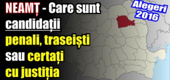 NEAMȚ – Care sunt candidații penali, traseiști sau certați cu justiția
