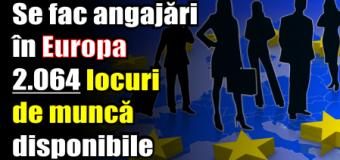 ANOFM – 2.064 locuri de muncă vacante în Spaţiul Economic European – 15 decembrie