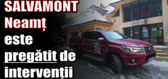 SALVAMONT Neamț este pregătit de intervenții