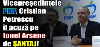 Vicepreședintele PMP, Cristian Petrescu, acuză președintele Consiliului Județean Neamț de ȘANTAJ!