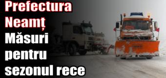 Prefectura Neamț – Măsuri pentru sezonul rece
