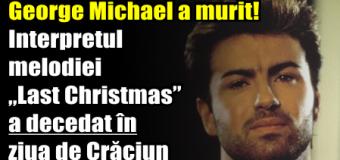 """George Michael a murit! Interpretul melodiei """"Last Christmas"""" a decedat în ziua de Crăciun"""