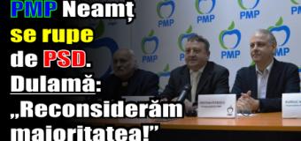 """PMP Neamț se rupe de PSD. Laurențiu Dulamă: """"Reconsiderăm majoritatea!"""""""
