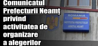 """Prefectul județului Neamț – """"Am realizat aproape toate activităţile specifice organizării alegerilor"""""""
