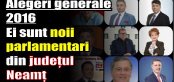 Ei sunt viitorii parlamentari din județul Neamț – mandatul 2016-2020