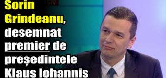 Sorin Grindeanu, desemnat premier de președintele Klaus Iohannis