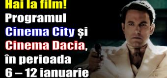 Hai la film! Programul Cinema City și Cinema Dacia, în perioada 6 – 12 ianuarie
