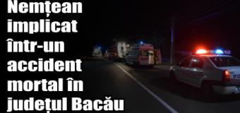 Nemțean implicat într-un accident mortal în județul Bacău