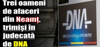 Oameni de afaceri din Neamț, trimiși în judecată de DNA