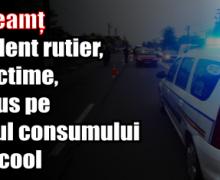 IPJ Neamț – Accident rutier, cu victime, produs pe fondul consumului de alcool