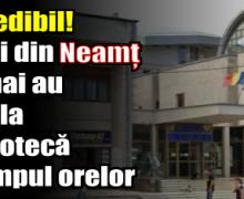 Incredibil! Elevii din Neamț nu mai au voie la Biblioteca Județeană până la ora 13:00