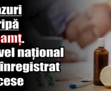 18 cazuri de gripă la Neamț. La nivel național s-au înregistrat 9 decese