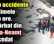 Patru accidente în ultimele 24 de ore. Un bărbat din Piatra-Neamț a decedat